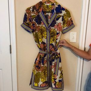 Trina Turk—button down dress